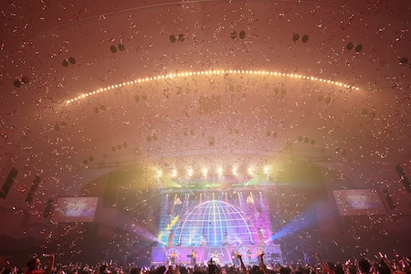 「田村ゆかり LOVE▽LIVE 2019 *Twilight▽Chandelier*」追加公演の様子。