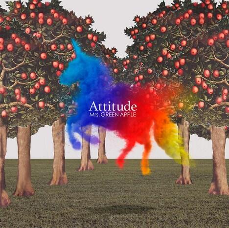 Mrs. GREEN APPLE「Attitude」通常盤ジャケット