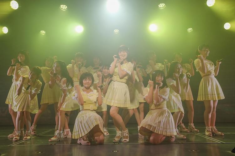 NGT48「夢を死なせるわけにいかない」初日公演の様子。(c)AKS