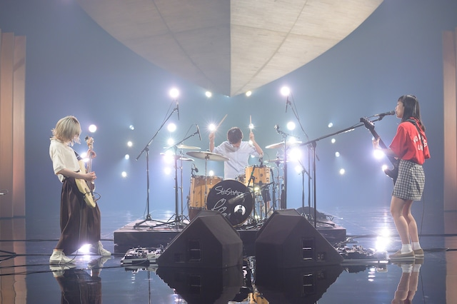 SHISHAMO(写真提供:NHK)