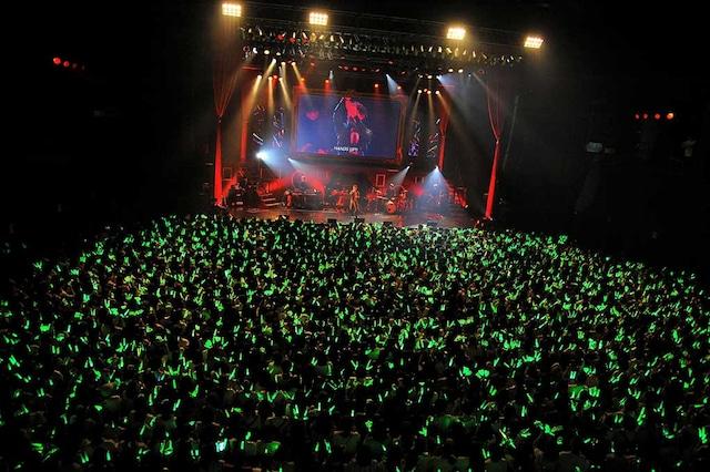 うらたぬき「Uratanuki Birthday Live~Unlimited~」東京公演の様子。(撮影:岡本麻衣)