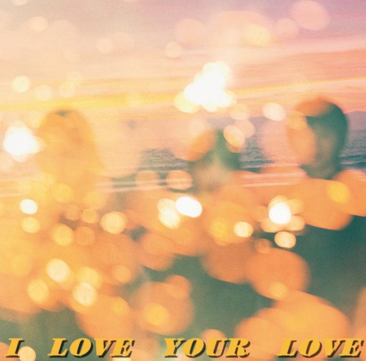 Negicco「I LOVE YOUR LOVE」CD盤ジャケット
