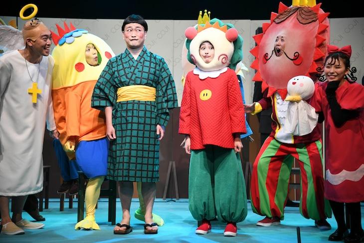 舞台「コジコジ」の公開ゲネプロより。 (c)さくらももこ (c)舞台コジコジ製作委員会