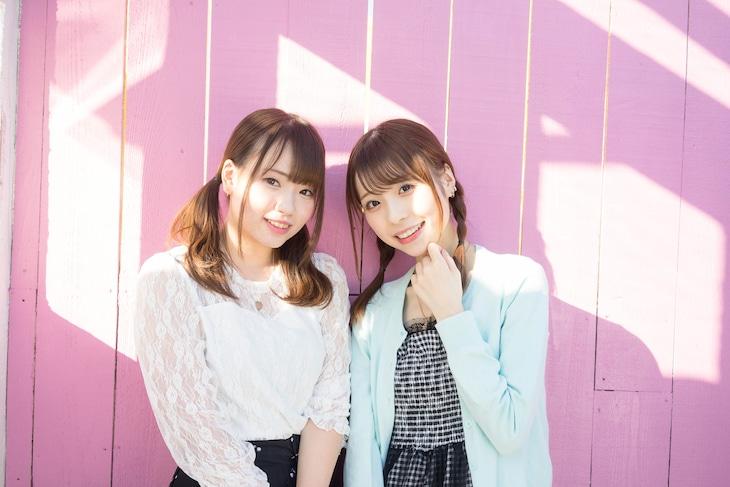 左から相沢美玲、池田ゆうか。