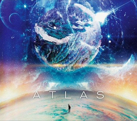 PassCode「ATLAS」初回限定盤ジャケット