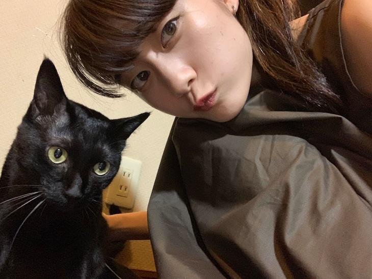 MiKiNA(EMPiRE)× 愛猫のポポ、ココ、ビビ