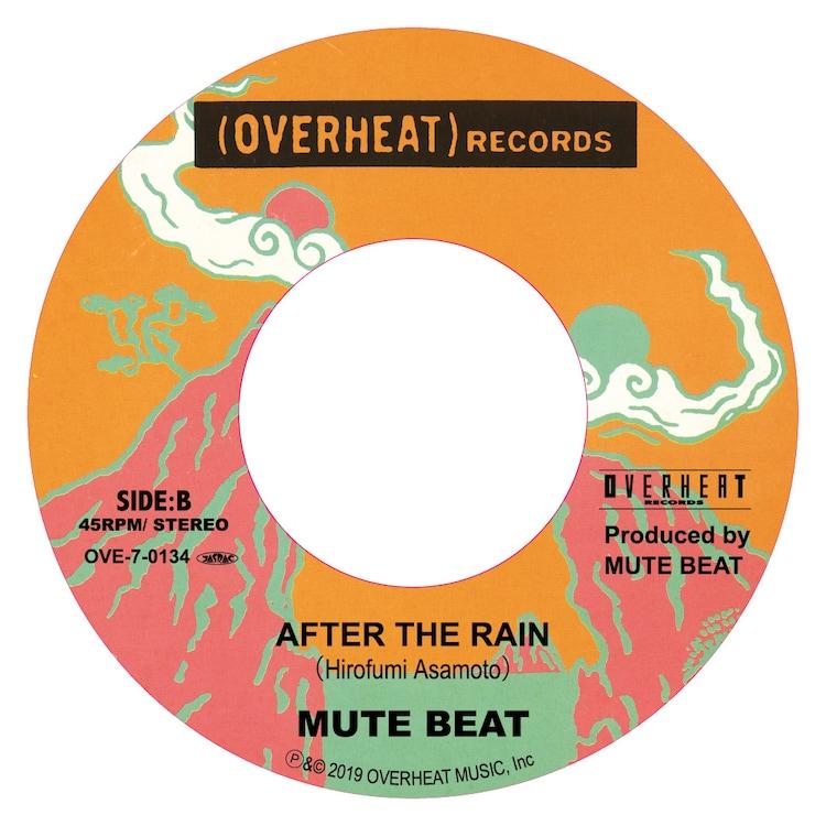 MUTE BEAT「ORGAN'S MELODY / AFTER THE RAIN」B面ビジュアル