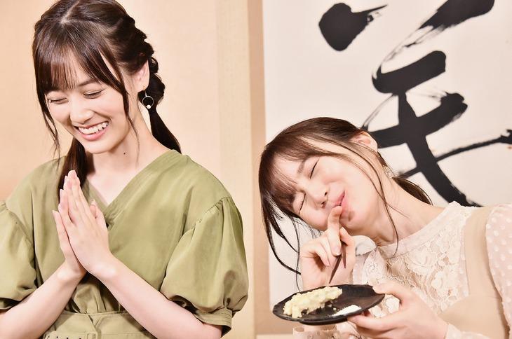 山下美月と生田絵梨花。(写真提供:日本テレビ)