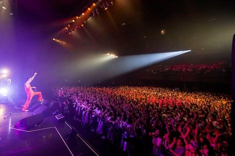 "菅田将暉「菅田将暉LIVE TOUR 2019 ""LOVE""」東京・Zepp DiverCity TOKYO公演の様子。(撮影:上飯坂一)"