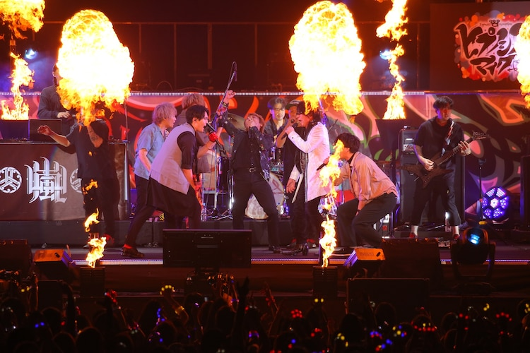 「ヒプノシスマイク-Division Rap Battle-4th LIVE@オオサカ《Welcome to our Hood》」9月8日公演の様子。(撮影:田浦ボン、キシノユイ、渡辺慎一)