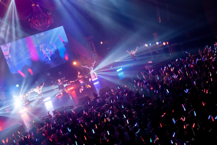 ZOC「We are ZOC」の様子。(Photo by Jumpei Yamada)