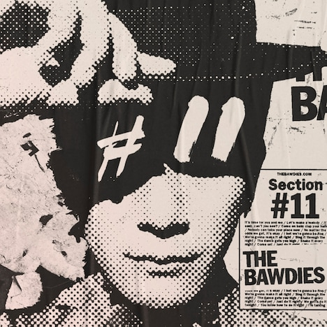 THE BAWDIES「Section #11」ジャケット