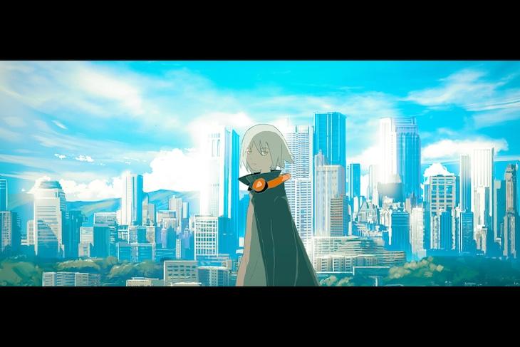 Eve「バウムクーヘンエンド」MVのワンシーン。
