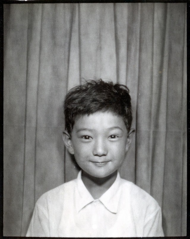 5才の頃のChar。