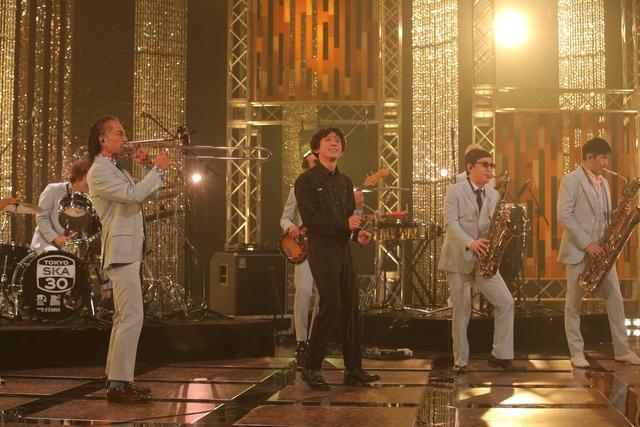 「The Covers 東京スカパラダイスオーケストラ デビュー30周年スペシャル」より。(写真提供:NHK)