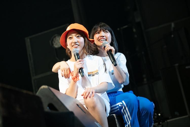 risano(左)とyuu(右)。