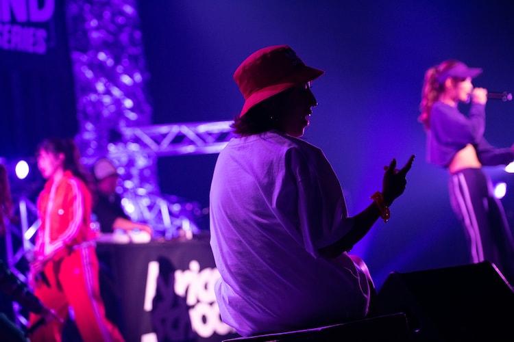"「lyrical school oneman live ""BE KIND REWIND"" at AKASAKA BLITZ」の様子。"