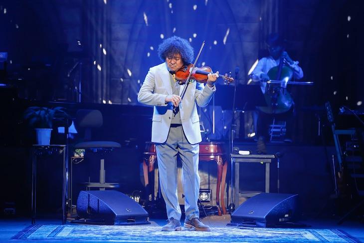 9月13日の東京・かつしかシンフォニーヒルズ モーツァルトホール公演の様子。(写真提供:ハッツアンリミテッド)