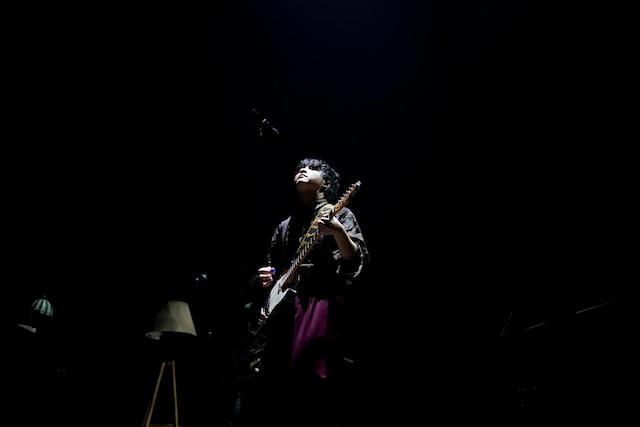 大森元貴(G, Vo)(Photo by HAJIME KAMIIISAKA)