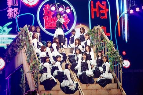 欅坂46「夏の全国アリーナツアー2019」東京・東京ドーム公演の様子。(撮影:上山陽介)