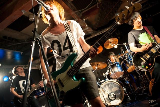 2011年、愛知県・栄R.A.D.にて。(撮影:ヤオタケシ)