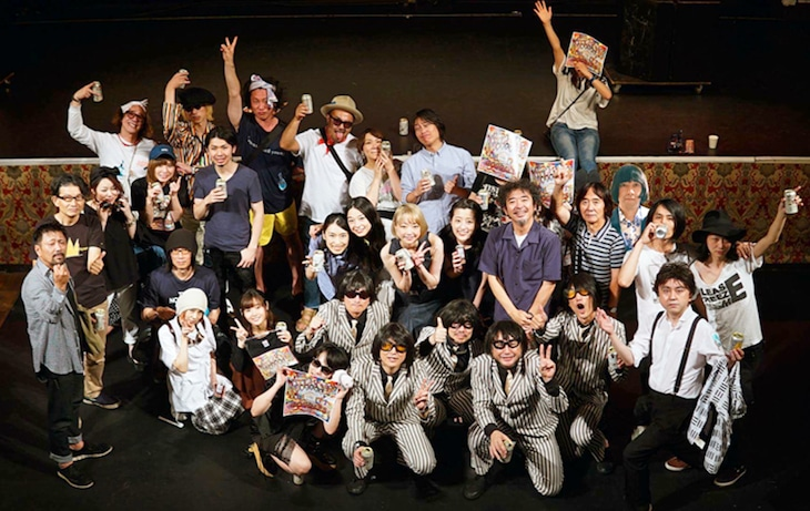 「MAGICAL MYSTERY COVERS Release Party in TOKYO」の出演者。