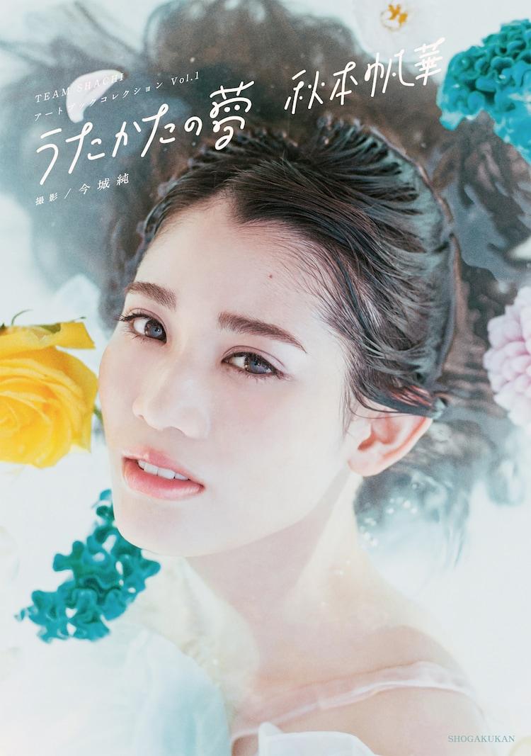 秋本帆華「TEAM SHACHI アートブックコレクション Vol.1 うたかたの夢 秋本帆華」表紙
