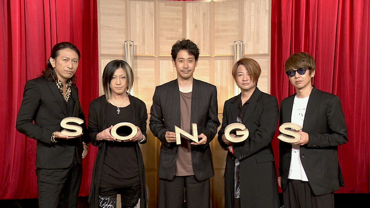 GLAYと大泉洋。(写真提供:NHK)