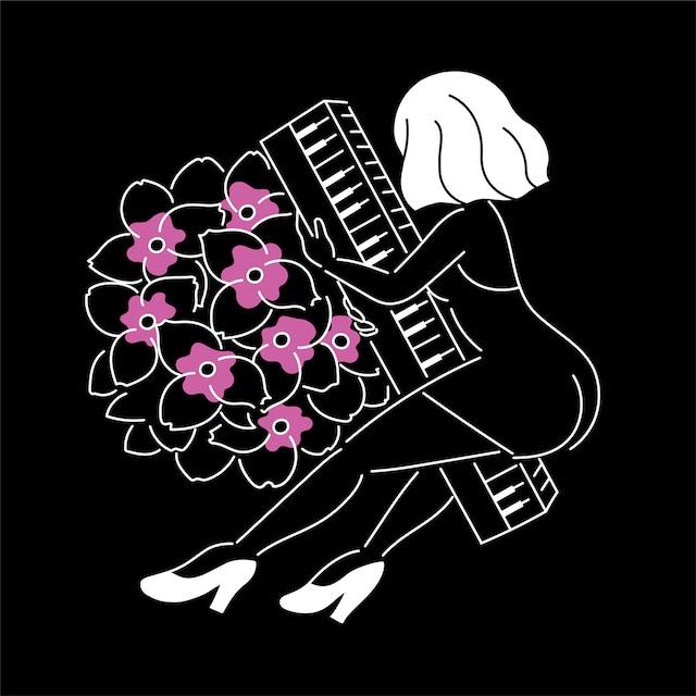FUKUSHIGE MARI「JAPANESE ONNA」配信ジャケット