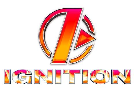 「IGNITION」ロゴ