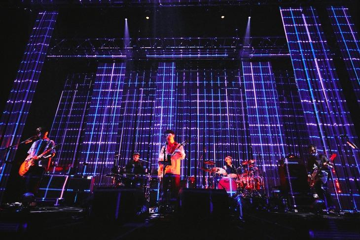 ASIAN KUNG-FU GENERATION「ASIAN KUNG-FU GENERATION Tour 2019『ホームタウン』」神奈川・パシフィコ横浜公演の様子。