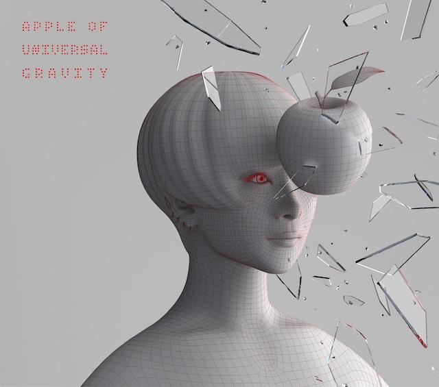 椎名林檎「ニュートンの林檎 ~初めてのベスト盤~」初回限定盤ジャケット