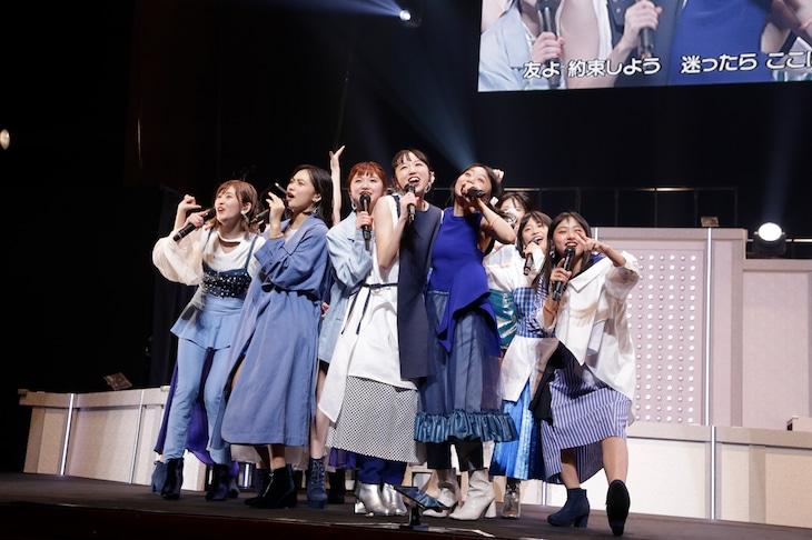 「アンジュルム 2019 秋『Next Page』~勝田里奈卒業スペシャル~」の様子。(写真提供:アップフロントグループ)
