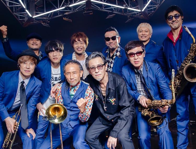 東京スカパラダイスオーケストラとチバユウスケ(The Birthday)。