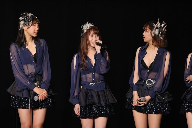SKE48「劇場デビュー11周年特別イベント前夜祭」ミッドナイト公演の様子。