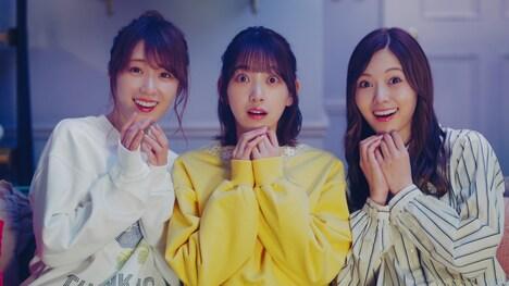 「明治 エッセル スーパーカップ Sweet's」CMのワンシーン。(c)乃木坂46LLC