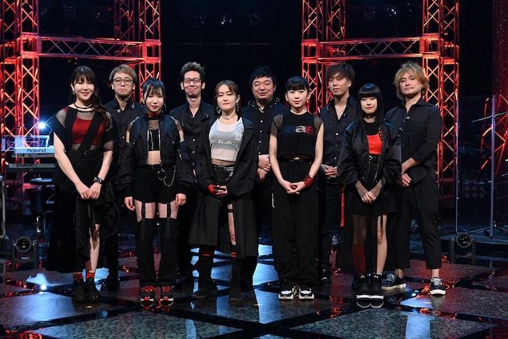 Little Glee Monster(前列)(写真提供:NHK)