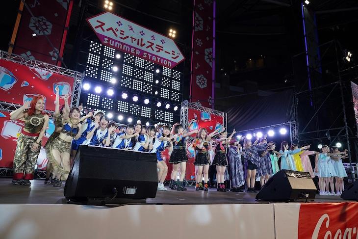 「六本木アイドルフェスティバル 2019」の様子。