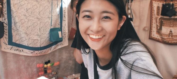 和田彩花「Une idole」ミュージックビデオのワンシーン。
