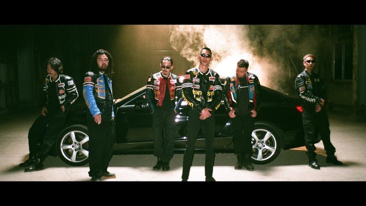 KANDYTOWN「Last Week」ミュージックビデオのワンシーン。