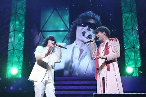龍玄としと山崎育三郎。(提供:ニッポン放送)