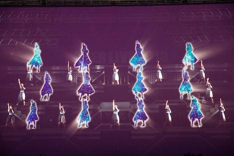 乃木坂46「アンダーライブ 2019」の様子。(写真提供:ソニー・ミュージックレコーズ)