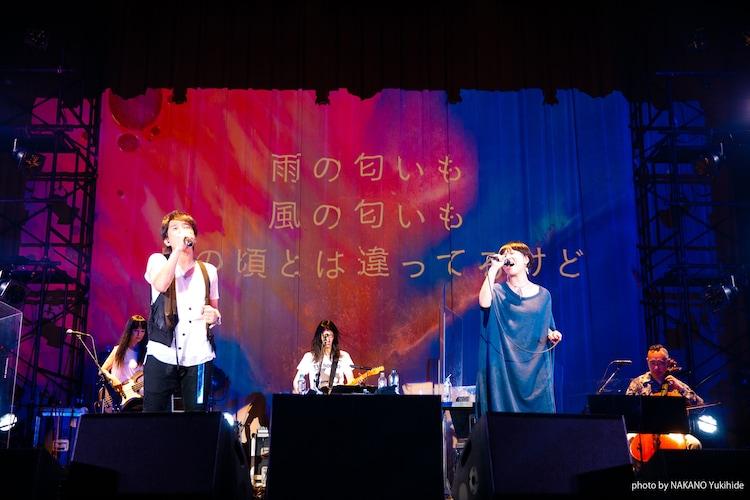 櫻井和寿(Mr.Children)とSalyu。