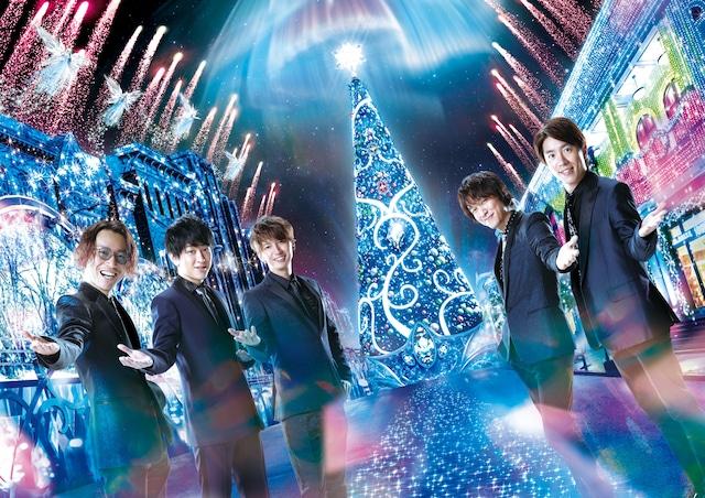 「ユニバーサル・クリスタル・クリスマス」キービジュアル