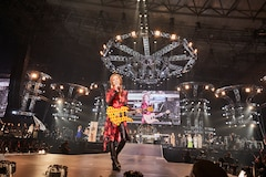 YOSHIKI(X JAPAN)(c)テレビ朝日ドリームフェスティバル2019