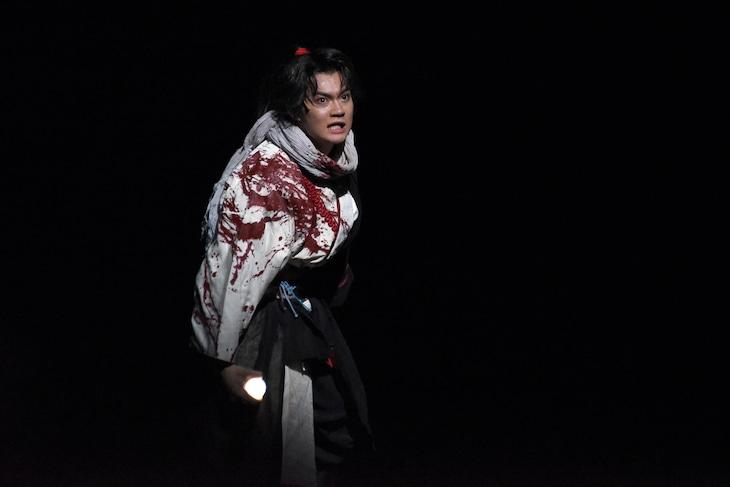 佐野勇斗演じる犬塚信乃。