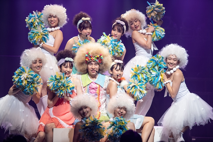 清竜人「KIYOSHI RYUJIN MUSIC SHOW 2019」の様子。