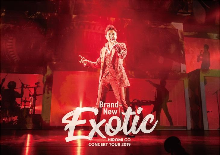 """郷ひろみ「Hiromi Go Concert Tour 2019 """"Brand-New Exotic""""」初回仕様盤三方背ボックスビジュアル"""