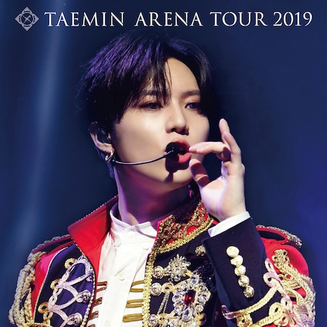テミン「TAEMIN ARENA TOUR 2019 ~X~」TOWER RECORDS限定ジャケット