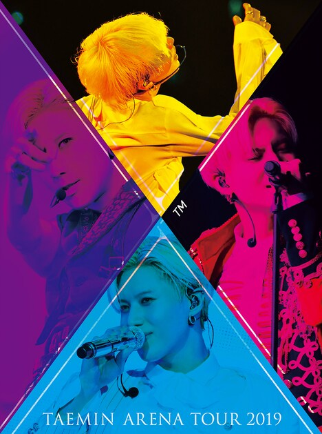 テミン「TAEMIN ARENA TOUR 2019 ~X~」初回限定盤ジャケット